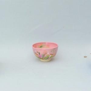 茶碗_永山_春草と兎