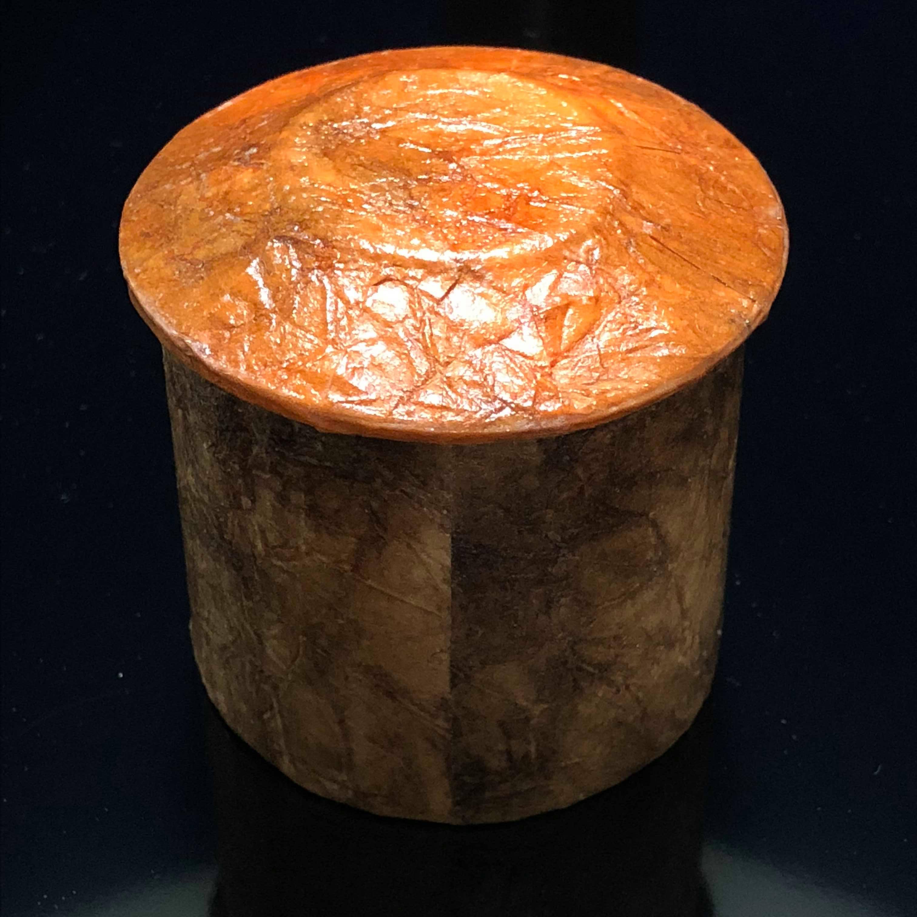 かみ細工 紙で作る茶道具・薄茶器