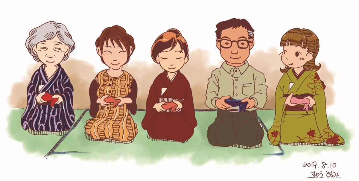 ◎茶道交流の場にも 七事式を楽しむ茶会