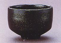 茶碗 黒楽 長次郎写 東陽坊 佐々木昭楽